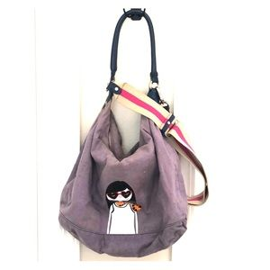 MARC BY MARC JACOBS Purple Sling Purse